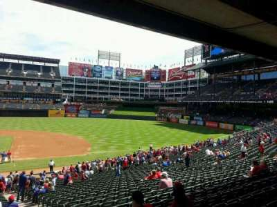 Globe Life Park in Arlington, section: 33, row: 32, seat: 16