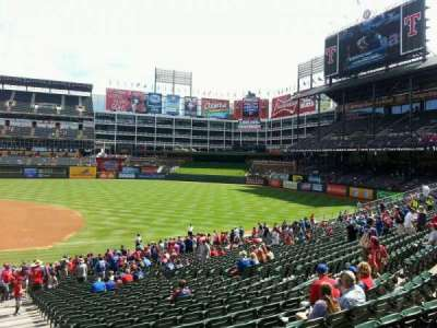 Globe Life Park in Arlington section 34