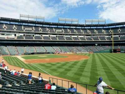 Globe Life Park in Arlington, section: 40, row: 16, seat: 1