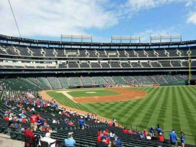 Globe Life Park in Arlington, section: 40, row: 38, seat: 19