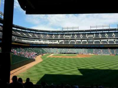 Globe Life Park in Arlington section 45