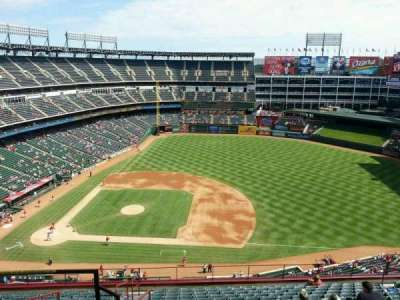Globe Life Park in Arlington section 334