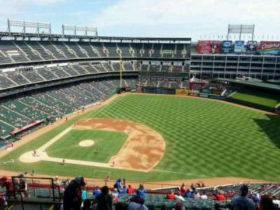 Globe Life Park in Arlington section 335