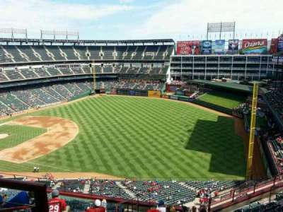Globe Life Park in Arlington, section: 340, row: 13, seat: 2