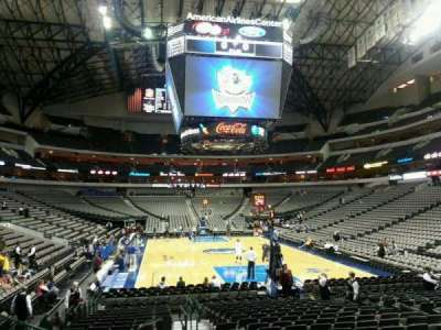 American Airlines Center, section: 113, row: H, seat: 13