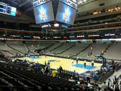 American Airlines Center section 116