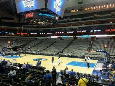 American Airlines Center section 117