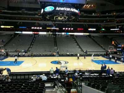 American Airlines Center section 119