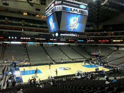 American Airlines Center section 120