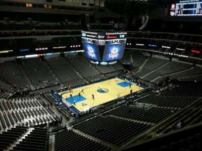 American Airlines Center, section: 330, row: F, seat: 8