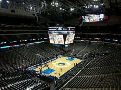 American Airlines Center section 315