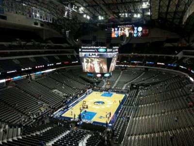 American Airlines Center section 316