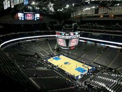 American Airlines Center section 322