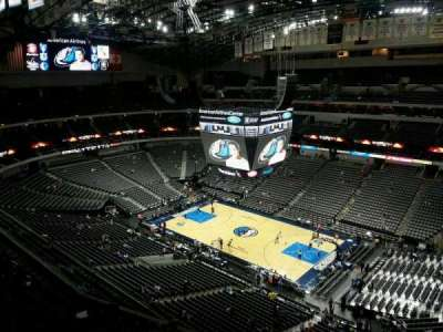 American Airlines Center, section: 323, row: J, seat: 6
