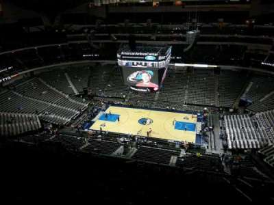 American Airlines Center section 325