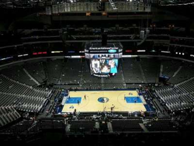 American Airlines Center, section: 326, row: R, seat: 11