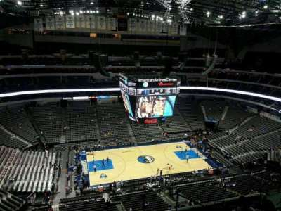 American Airlines Center section 328