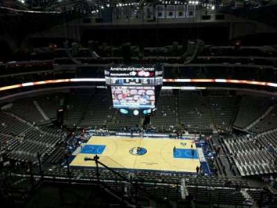 American Airlines Center section 309