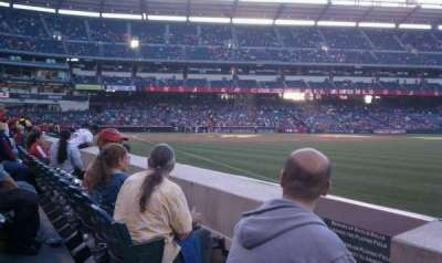 Angel Stadium, section: F131, row: b, seat: 4