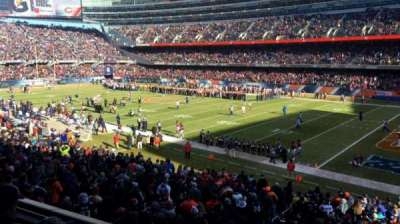 Soldier Field, section: 231, row: 3, seat: 15