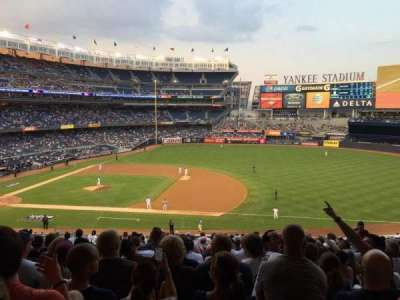 Yankee Stadium section 214b