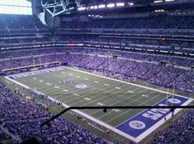 Lucas Oil Stadium section 606