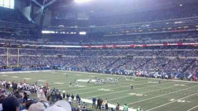 Lucas Oil Stadium section 109