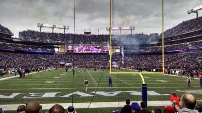 M&T Bank Stadium, section: 141, row: 8, seat: 1