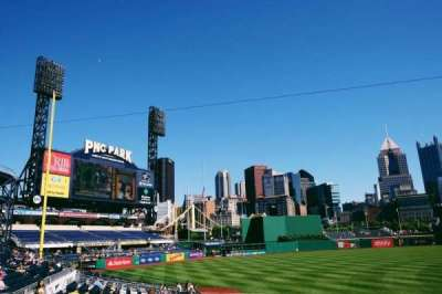 PNC Park, section: 127, row: M, seat: 14