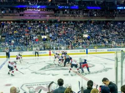 Nationwide Arena section 104