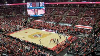 Value City Arena, section: 319, row: E, seat: 1