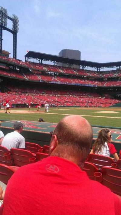 Busch Stadium, section: 144, row: H, seat: 12