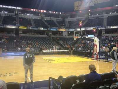 Bankers Life Fieldhouse, section: 16, row: 6, seat: 1