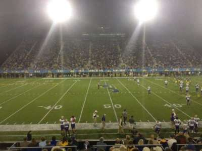 Delaware Stadium, section: K, row: K, seat: 23