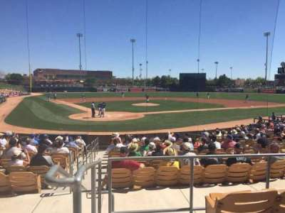 Camelback Ranch, section: 113, row: 4, seat: 11