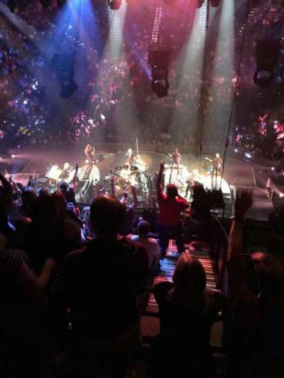 Mohegan Sun Arena, section: 101, row: J, seat: 2