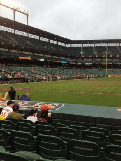 Oriole Park at Camden Yards section 22