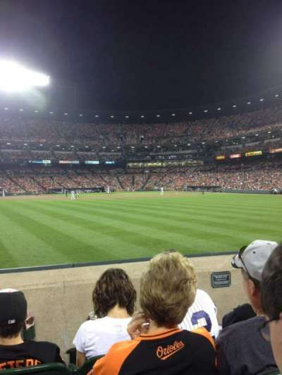 Oriole Park at Camden Yards, section: 84, row: 4, seat: 17