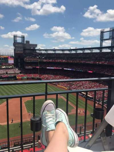Busch Stadium, section: 358, row: WC, seat: 10