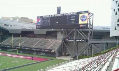 Nippert Stadium section 107