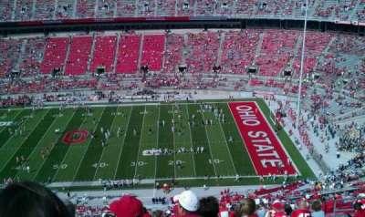 Ohio Stadium, section: 18c, row: 41, seat: 32