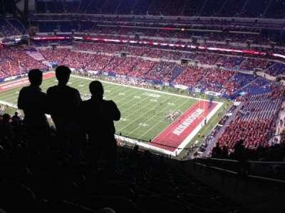 Lucas Oil Stadium, section: 634, row: 16, seat: 3