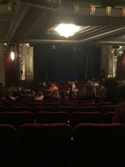 Pantages Theatre (Hollywood), section: Orch L, row: VV, seat: 13
