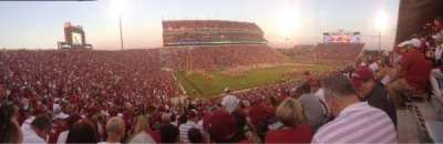 Gaylord Memorial Stadium, section: 11, row: 57, seat: 5