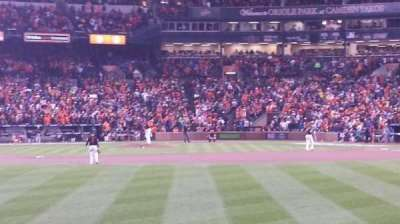 Oriole Park at Camden Yards section 86