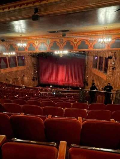 August Wilson Theatre, section: Mezzanine R, row: P, seat: 16