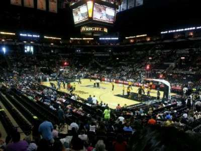 AT&T Center, section: 118, row: 20, seat: 2