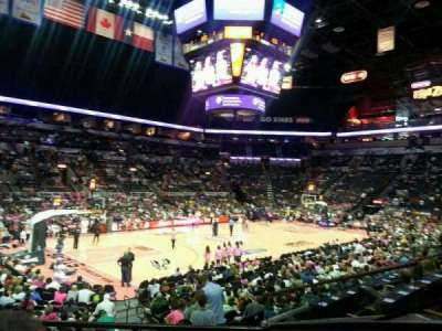 AT&T Center, section: 125, row: 19, seat: 1