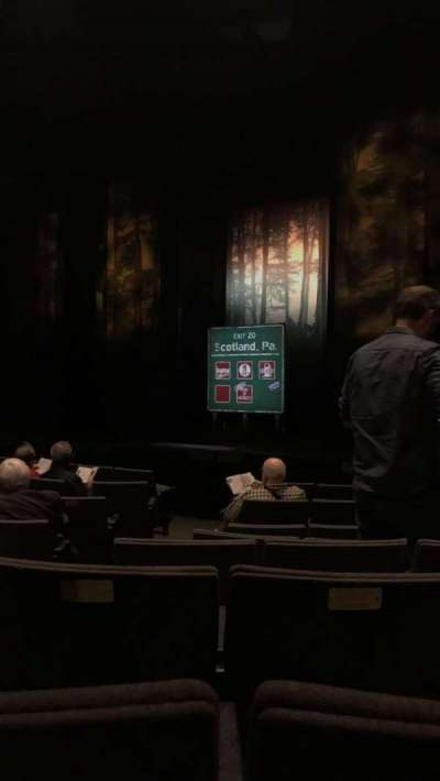 Laura Pels Theatre, section: Orchestra, row: K, seat: 4