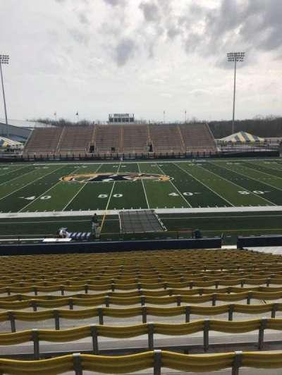 Dix Stadium, section: 4, row: 9, seat: 25